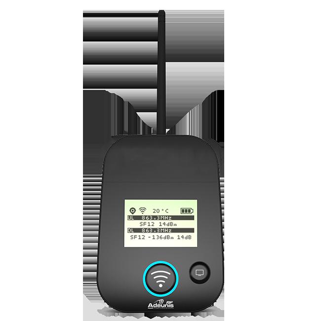 Test and check network coverage: Sigfox, LoRaWAN | Adeunis