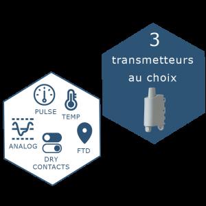 IoT Solution: Toolbox connectée LoraWan avec le choix de 3 capteurs, Smart Indsutry, Smart Building, Smart City