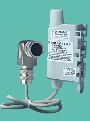 consommation-gaz-energie-pule+atex-binder-iot, capteur