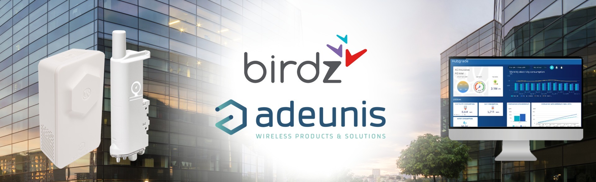 birdz, iot, lpwan, smart building